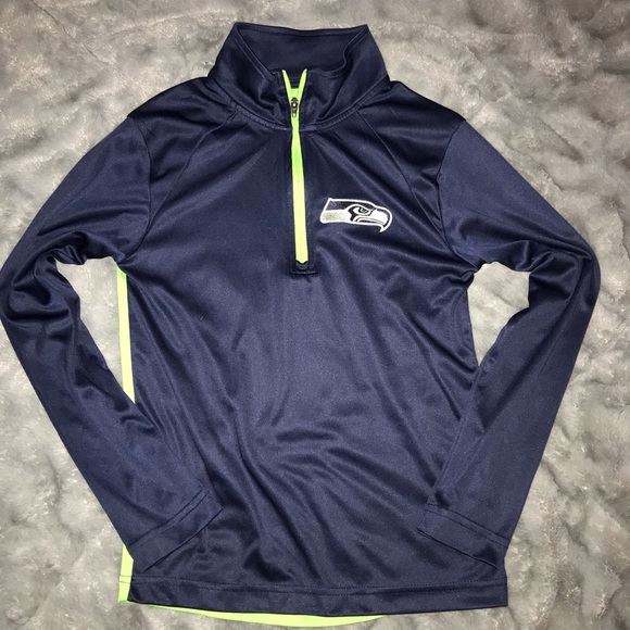 sports shoes 20210 6d59e Youth Seattle Seahawks Pullover